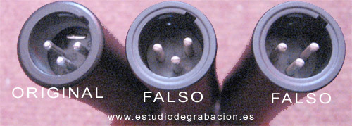 Shure SM57 falso vs original